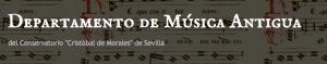 Departamento Musica Antiguo Sevilla